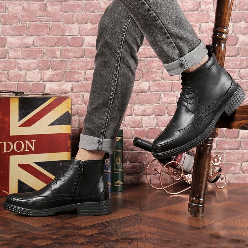 Daim 2018 Chaussons Courtes Luxe bleu Hommes Qualité Cuir Haute Beige Bot Designer En Printemps Militaire Cheville Mycolen noir Chaussures Askeri De automne wNn0POZX8k