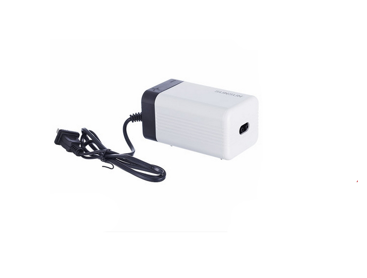 4W Aquarium Oxygen Pump Ultra-quiet Fish Aerator Dual Exhaust Port Air Pump