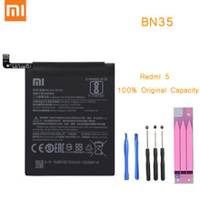 Original Phone Battery for Redmi 5 Battery Xiaomi Redmi5 hongmi 5 BN35 Replacement Batteries with Retail Package Redrice bateria(China)