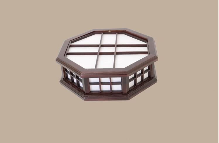 Fernbedienung Japanischen Innenbeleuchtung Led Deckenleuchte Washitsu Shoji Lampe Holz Und Papier Beleuchtung Schlafzimmer W