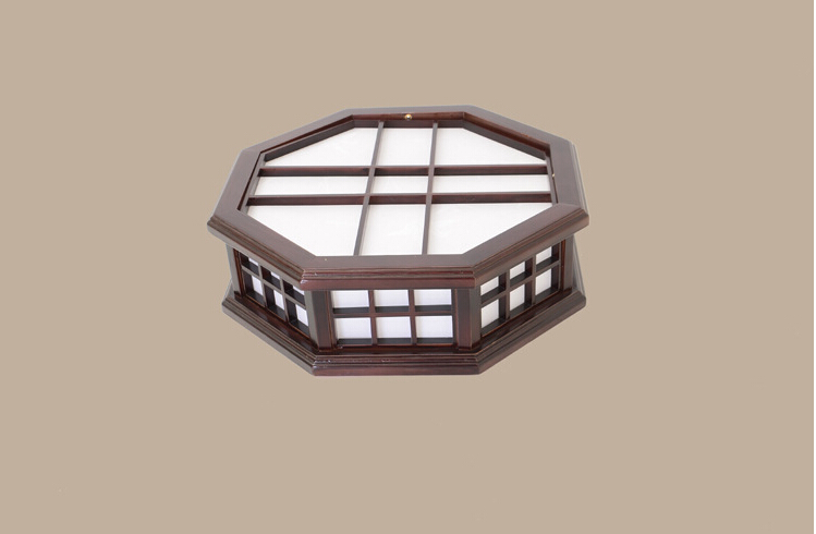 Remote Control Japanese Indoor Lighting Led Ceiling Light Washitsu Shoji Lamp Wood and Paper Led Lighting Bedroom Living Room japanese ceiling lights mahogany finish shoji lamp wood paper washitsu tatami decor living room indoor lantern lamp lighting