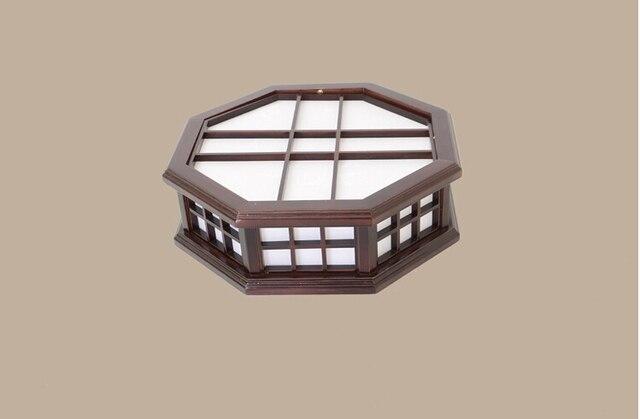 t l commande japonais clairage int rieur led plafonnier washitsu shoji lampe bois et papier led. Black Bedroom Furniture Sets. Home Design Ideas