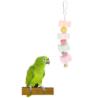 10pcs/lot Parrot Squirrel Toy Molar String Parrot Grindstone Calcium Milk Bite   Bird   Toy Pet Products   Bird     Supplies