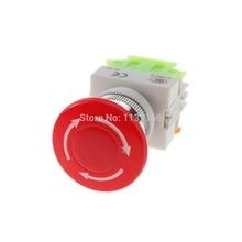 10A CNC Emergency Stop Mushroom Pushbutton Switch