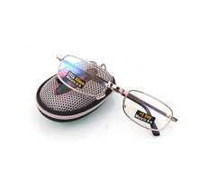 9a9773154a Caliente plegable claro hombres mujeres gafas de lectura rejilla con Clip  de cinturón presbicia Eyewear Unisex