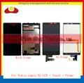 Alta qualidade para nokia lumia x2 lcd full screen display toque digitador assembléia sensor painel completo com quadro frete grátis