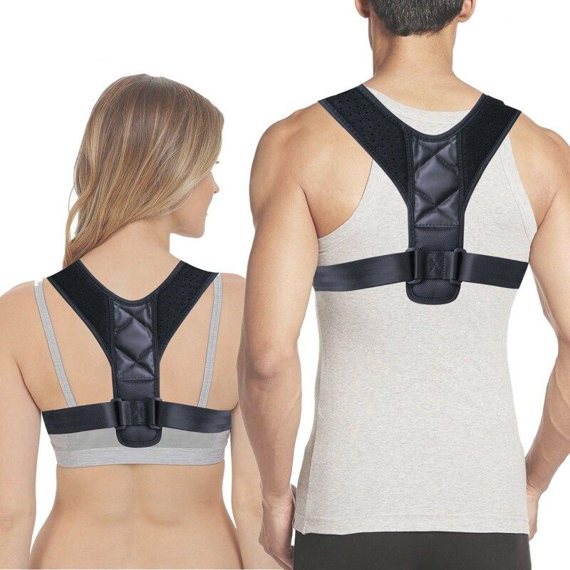 Brace Support Belt Adjustable Back Posture Corrector Clavicle Spine Back Shoulder Lumbar Posture Blet Correction