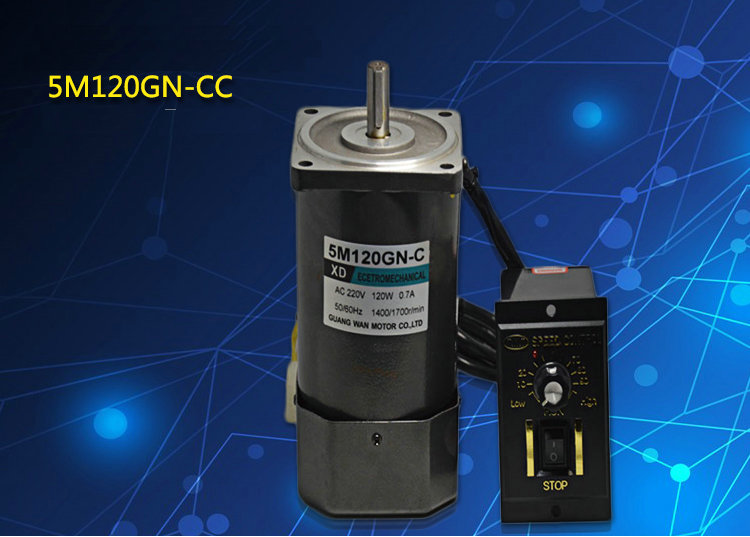 AC220V 120W 1400 / 2800rpm with miniature AC motor speed controller reversible Machinery / Power Tools / DIY Accessories motorAC220V 120W 1400 / 2800rpm with miniature AC motor speed controller reversible Machinery / Power Tools / DIY Accessories motor