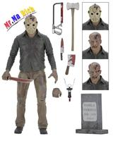 Neca Friday The 13th The Final Chapter Jason Voorhees Pvc Action Figure 7inch