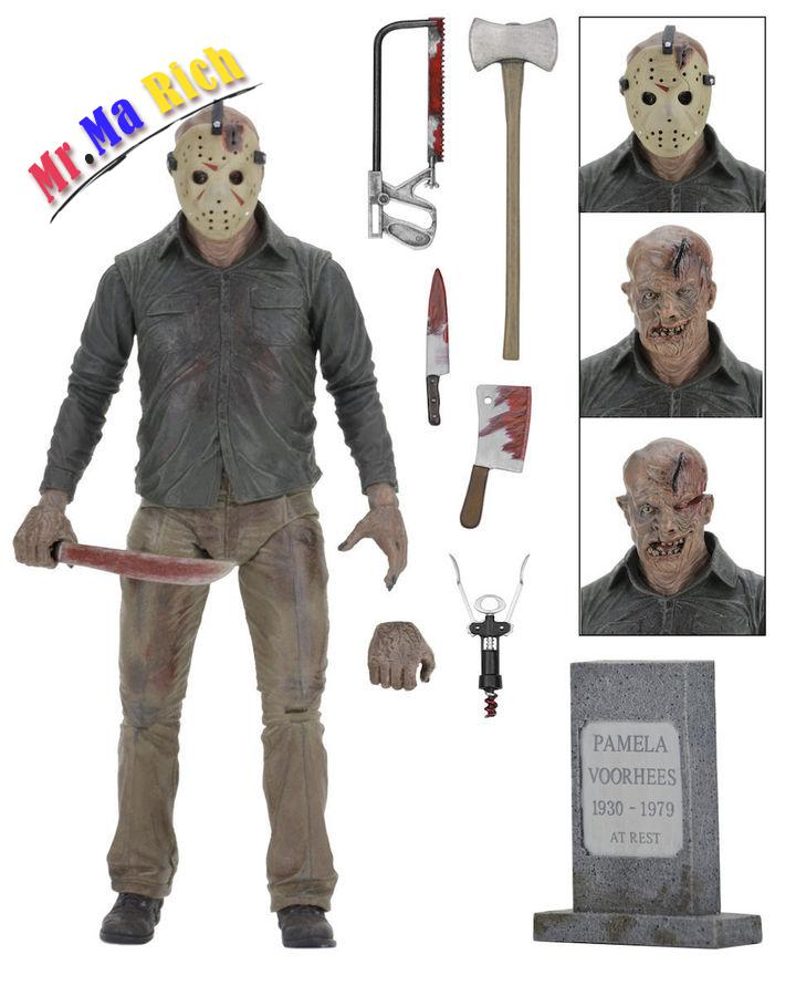 Neca Friday The 13th The Final Chapter Jason Voorhees Pvc Action Figure 7inch фигурки neca фигурка heroes of the storm 7 scale action figure series 2 tyrael