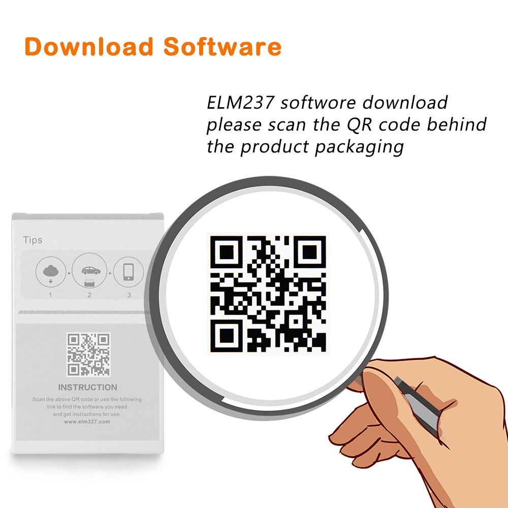 HTB1IEKIcRiE3KVjSZFMq6zQhVXaQ ELM 327 V1.5 PIC18F25K80 obd2 Bluetooth 2.0 4.0 Scanner ELM327 V1.5 for Android/IOS OBD 2 OBD2 Car Diagnostic Auto Easydiag Tool