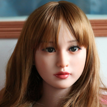 Top quality sex doll head for silicone adult dolls, love dolls heads, oral sexy products