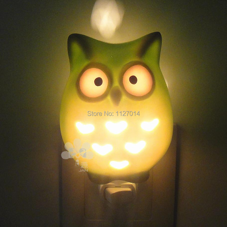 aliexpresscom buy fairy best luminaria led owl plug in decorative night lights novelty items kids bedside lamp from reliable owl cute suppliers on - Decorative Night Lights