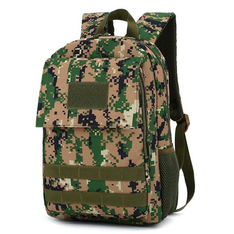Camouflage Sport desert digital Digital Dello Militare Outdoor Nylon Tattico Zaino Di 10l Bag Black khaki Camouflage Campeggio Color acu Viaggi Digital Jungle Trekking cp threesand Camouflage UqU10