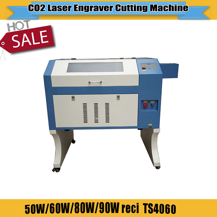 Good Quality Low Price  CO2 Laser Engraving Cutting Machine Card Engraving Machine TS4060 6040 For DIY Wedding Card For Sale