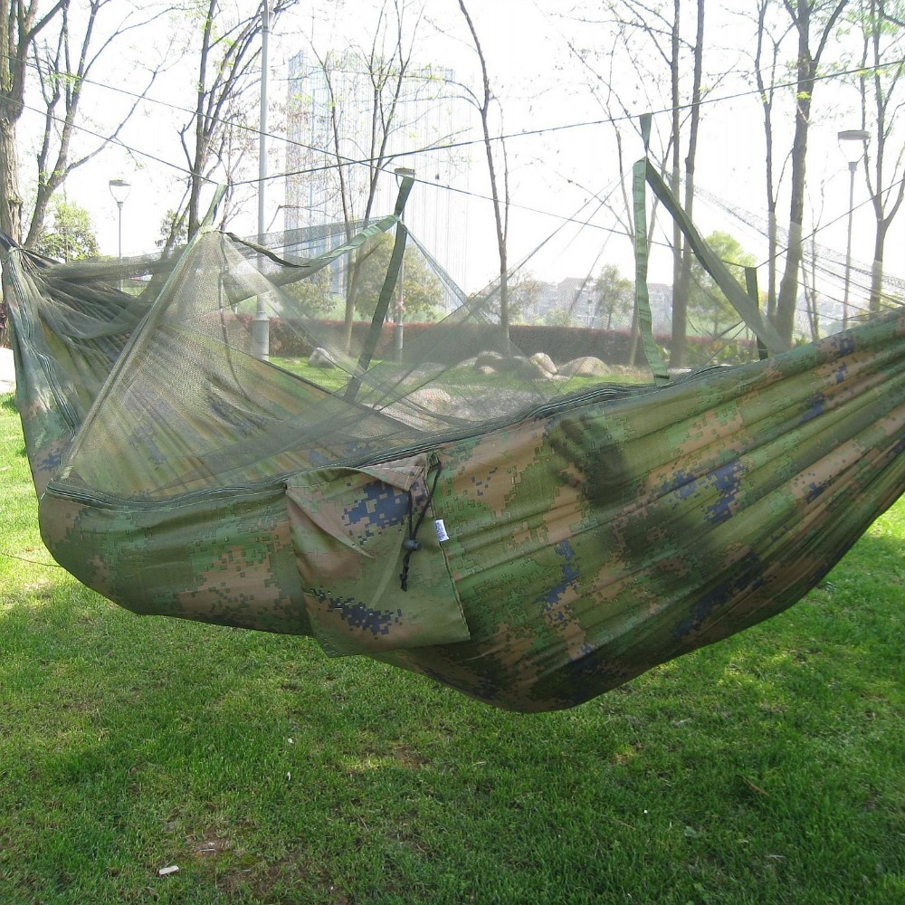 Best Deal¢Outdoor Hammock Backpacking Hanging-Bed Mosquito-Net Portable Camping for