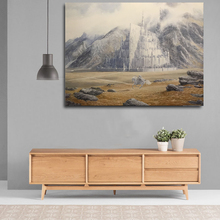 The Fall of Gondolin-Lord Of Rings Canvas Painting Prints Bedroom Home Decor Modern Wall HD Art Oil Posters Artwork