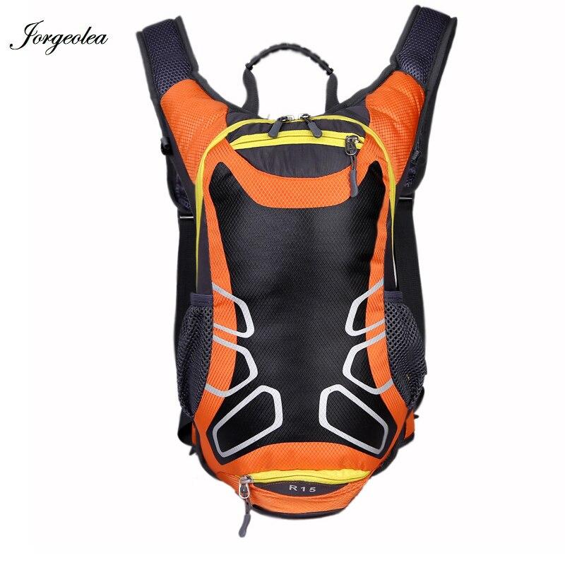 все цены на Jorgeolea 2018 Travel Bag Backpack Male Waterproof Bag Road Bag Knapsack Daypack Bicycle Accessories Shoulders Bag 0127-1 онлайн