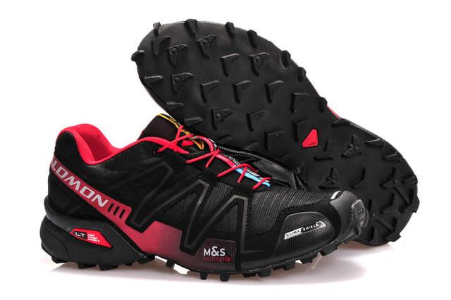 Salomon Speedcross 3 CS Women Running Shoes Black Grey