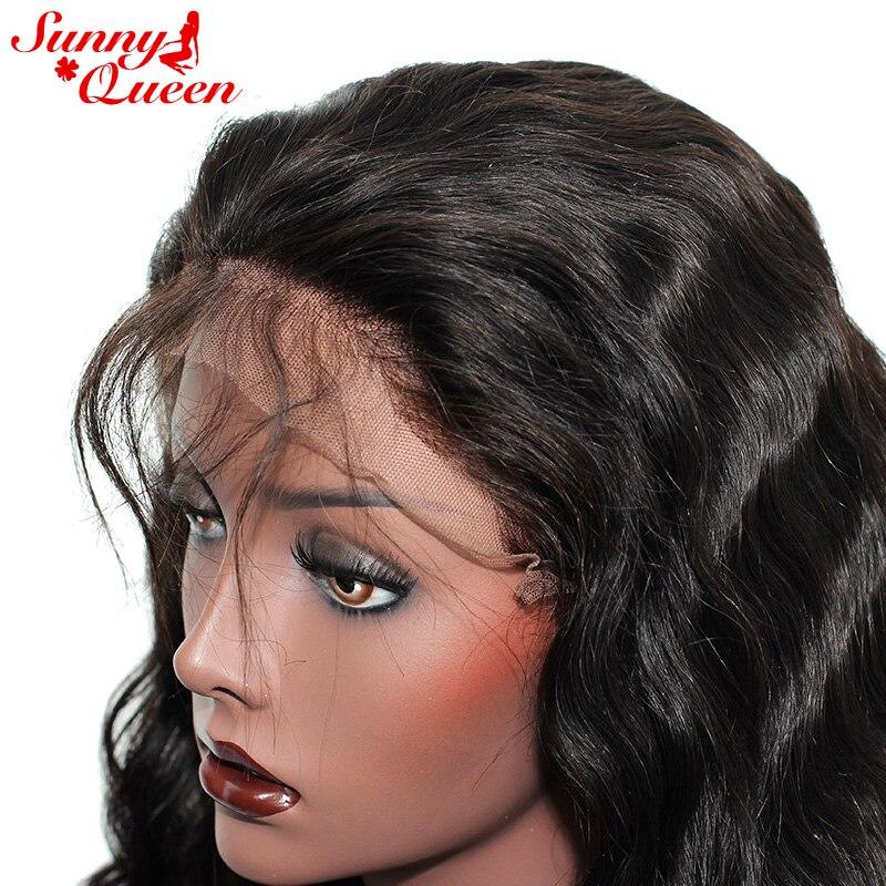 130% Ketumpatan Penuh Renda Manusia Rambut palsu Untuk Wanita Brazil - Rambut manusia (untuk hitam) - Foto 5