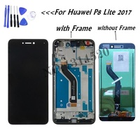 For Huawei P8 Lite 2017 LCD Display Touch Screen Digitizer Assembly Replacement For P8 Lite 2017