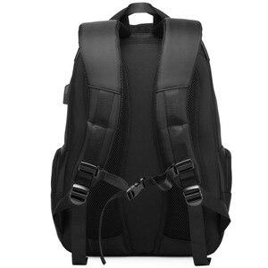 Image 5 - 2019 camiseta nueva marca Carry On 15,6 pulgadas hombres mujeres bolsa Escuela Secundaria USB cargador Puerto negocios viaje Laptop mochilas regalo