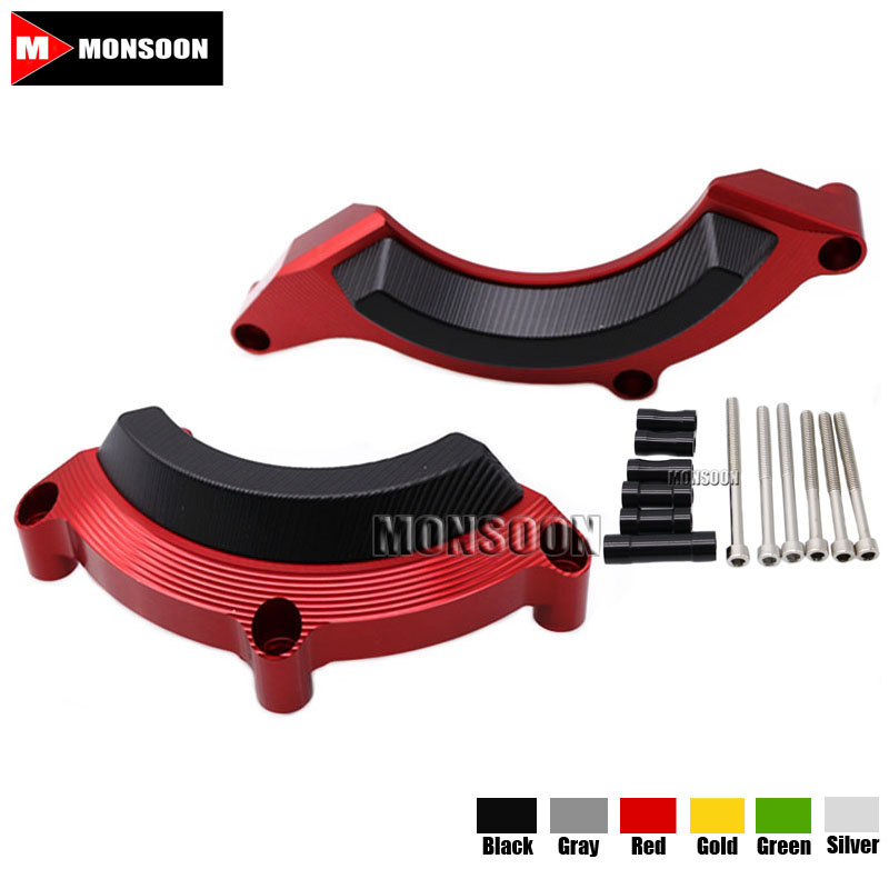 For KAWASAKI Z900 Z 900 2016-2017 Motorcycle Accessories Engine Protector Guard Cover Frame Slider Red kemimoto for kawasaki z900 2017 frame slider engine guard protection case saver for kawasaki z 900 2017 moto parts accessories