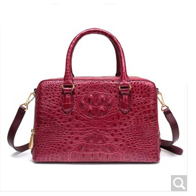 feikebeike Private custom-made new real alligator leather handbag all hand-made women handbag all things made new