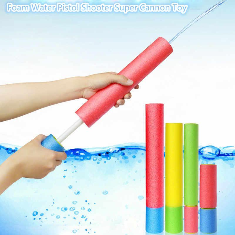 Пенопластовый водяной пистолет Shooter супер пушка игрушка для детей Детские пляжные Водяные Пистолеты водяная Стрелялка