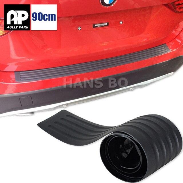 1 шт. стайлинга автомобилей порога гвардии автомобиль внедорожник тела заднего бампера протектор накладка защитную полосу черный 90 см /104 см