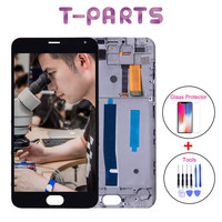 AAA Qualit Tested 5 5 For MEIZU M2 Note LCD Touch Screen Digitizer Assembly For MEIZU