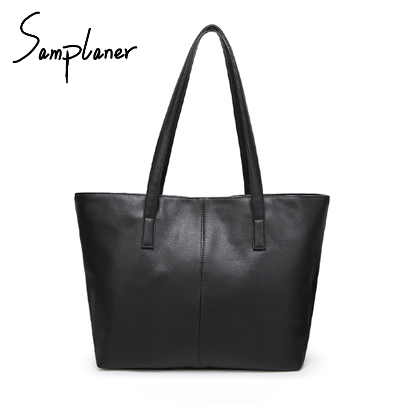 Promotion Casual Soft Women Shopping Bag Light PU Leather Women's Handbags Zipper Ladies Shoulder Bags Large Female Tote Bags