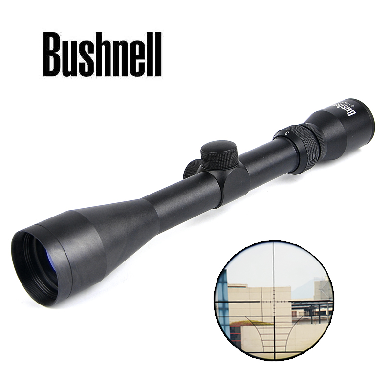 BUSHNELL 3-9X40 Riflescope Tactical Rifle Scope Hunting Scopes Luneta Para Rifle Hunting Airsoft Air Guns Scope vortex 3 9x40 tactical riflescope optic sight rifle scope air gun luneta para rifle sniper scope for hunting caza
