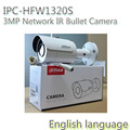 original DAHUA 3MP Network IR Bullet Camera 1080P Waterproof outdoor IP camera full HD POE IPC-HFW1320S,HFW1320S