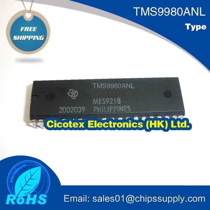 TMS9980ANL PDIP40L SINGE-CHIP 16-BIT CENTRAL PROCESSING UNIT (CPU) WHICH HAS AN 8-BIT DATA BUS TMS9980A-NL TMS9980ANL PDIP40L SINGE-CHIP 16-BIT CENTRAL PROCESSING UNIT (CPU) WHICH HAS AN 8-BIT DATA BUS TMS9980A-NL