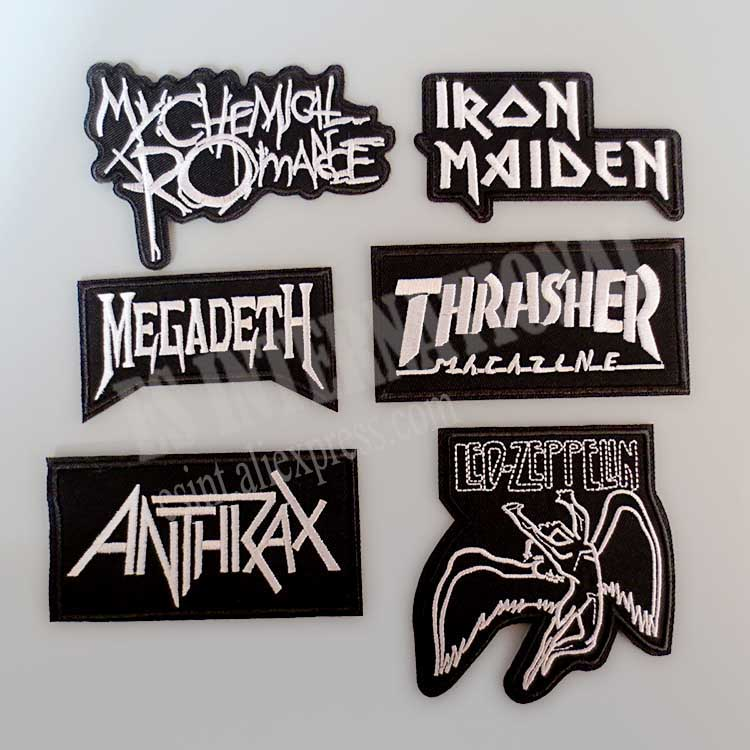 Buy band patches and get free shipping on aliexpress com