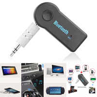 2016 manos libres inalámbrico Bluetooth 4,1 Audio adaptador receptor de música estéreo de 3,5mm A2DP Kit de coche para Streaming de música sistema de sonido