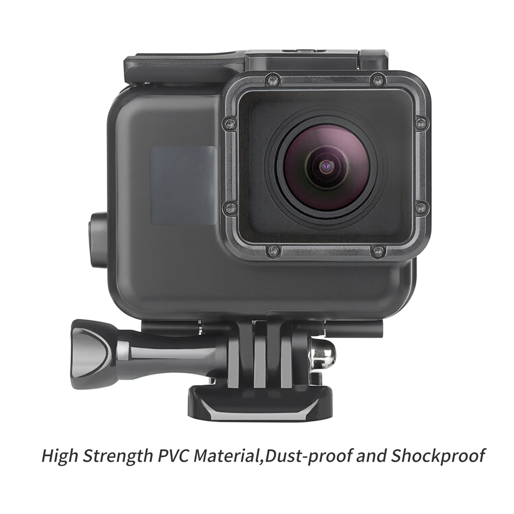 SHOOT 45m Underwater Waterproof Case for GoPro Hero 7 6 5 Black Diving Protective Cover Housing Mount for Go Pro 7 6 5 Accessory 2