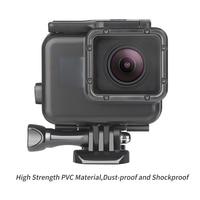 Снимать для использования на глубине до 45 м подводный Водонепроницаемый чехол для спортивной экшн-камеры Go Pro Hero 7 6 5 Black Label Дайвинг Pro tective кр... 1