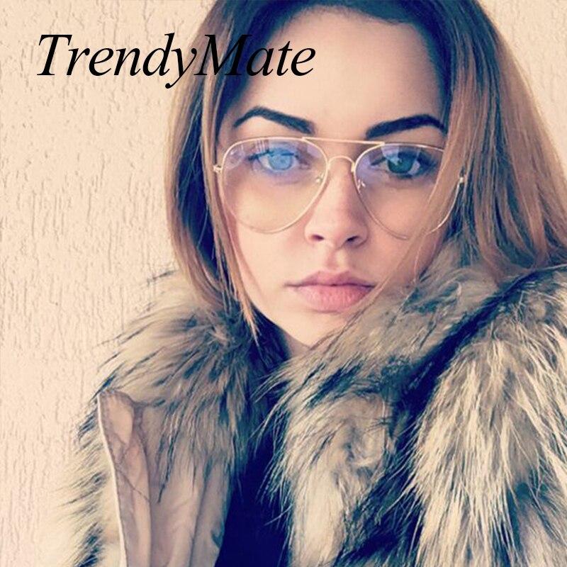 Hot Fashion Brand Designer Aviation Sunglasses Women Driving Mirror Male Sun Glasses Men Pilot Oculos De Sol UV400 085
