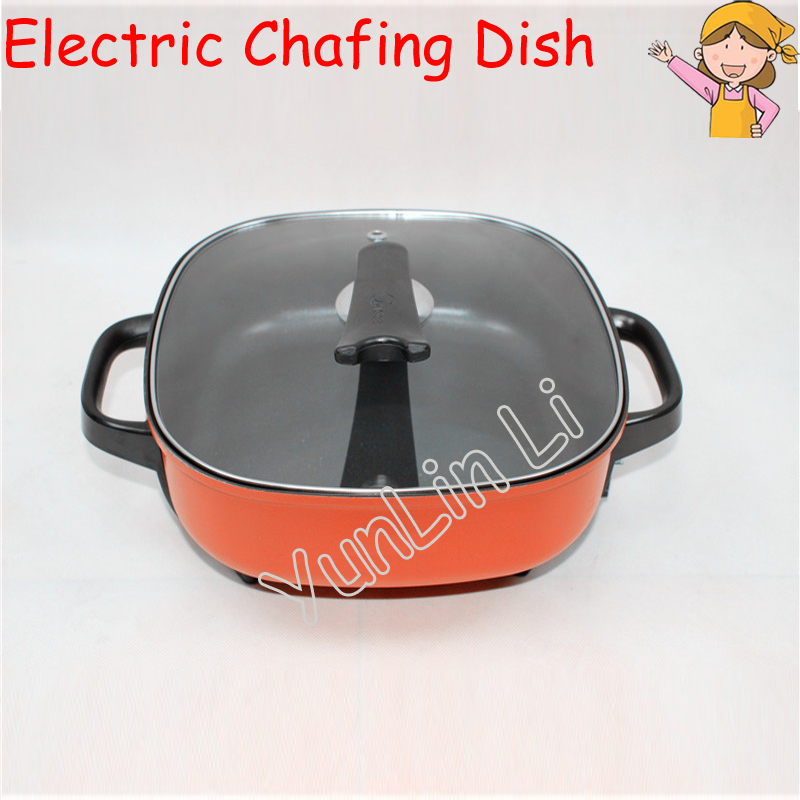 Electric Hot Pot Cooker Electric Chafing Dish Fasting Multi Cookers Big Capacity Frying Pots MC-LHN30A connie brockway hot dish
