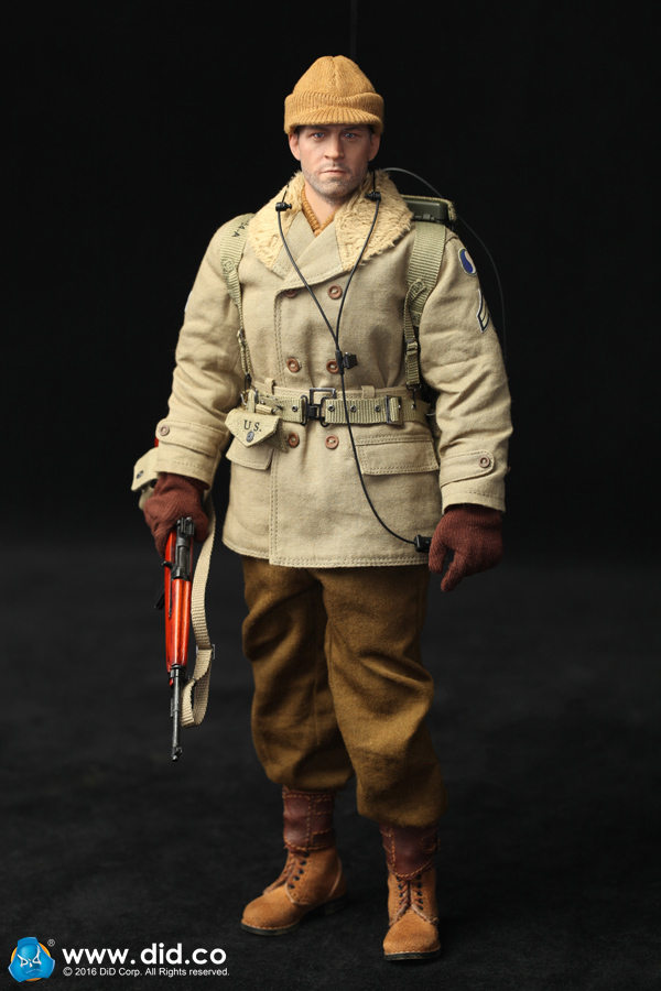 цена на 1/6th military figure Collectible Model plastic toy US Army 29th Infantry Division Radio Operator Paul 12