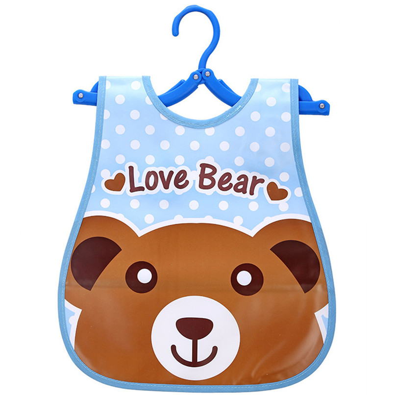 Adjustable Baby Bibs EVA Plastic Waterproof Lunch Feeding Bibs Baby Cartoon Feeding Cloth Children Baby Apron Babador de bebe (19)