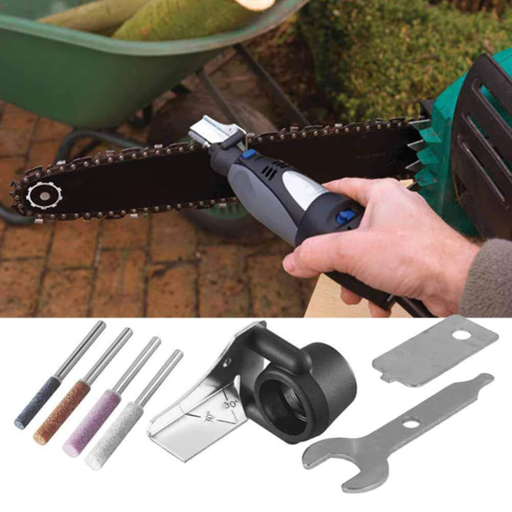 Portable Saw Chain Sharpener Electric Grinder Sharpening Chain Tool Accessorise