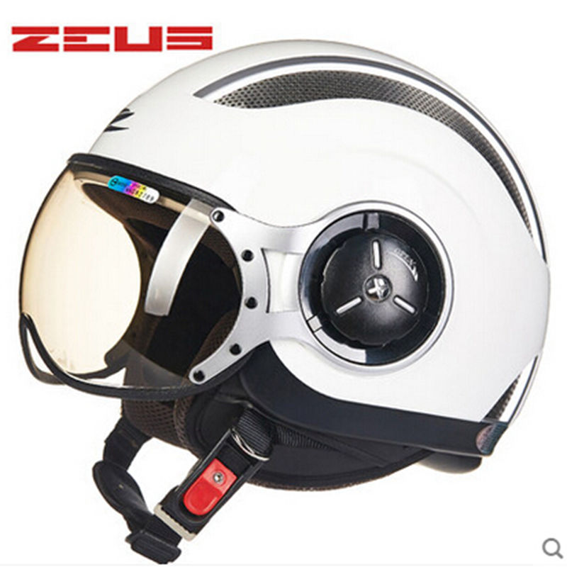 ZEUS 218C open face 3 4 motorcycle motorbike Casco Capacete helmet Free shipping Jet Vintage retro