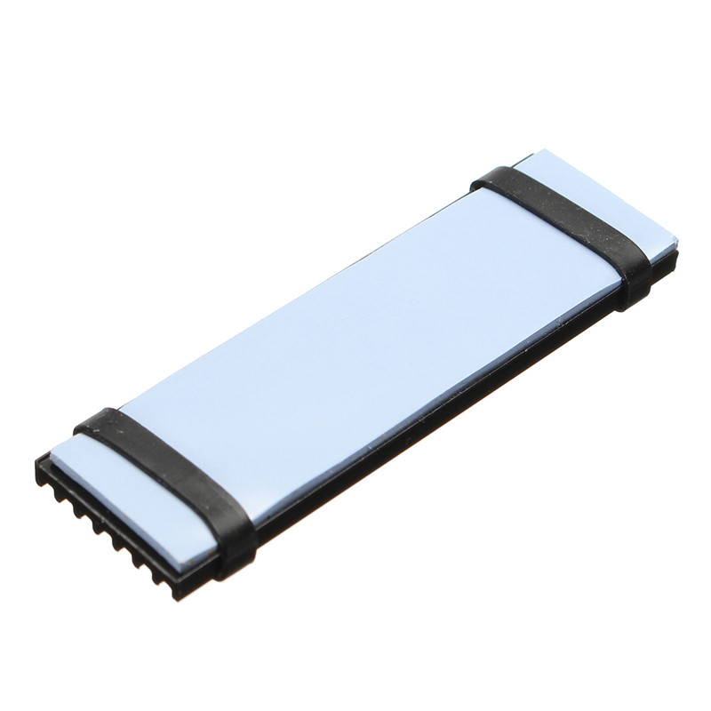 High Quality Cooling Heat Dissipation Radiator Aluminum Heat Sink Thermal Pad for N80 NVME NGFF M.2 2280 PCIE SSD Passive 300x300x0 025mm high heat conducting graphite sheets flexible graphite paper thermal dissipation graphene for cpu gpu vga