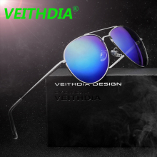VEITHDIA Brand Unisex Sun Glasses feminino Eyewear oculos de sol Driving Polarized Coating Mirror Sunglasses For Men 2736