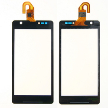 5pcs/lot Brand New black Touch Screen with Digitizer glass for sony Xperia ZR M36h M36 C5502 C5503 free shipping