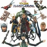 Marvel Legends 6 Thor 3 Ragnarok Action Figure HELA Sister Loki Gladiator HULK Movie VALKYRIE 2017 SDCC Target Exclusive Sword