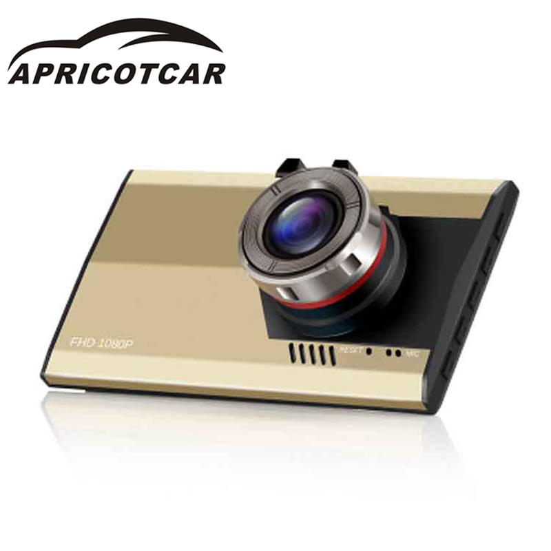 "3.0 \"" Full HD Night Vision 1080P Ultra-thin Car Camera Built-in Video Camera 500 Mega Pixel DVR Camcorder Microphone Dash Cam"